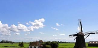 veterný mlyn v holandsku