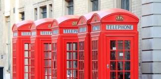 londyn a červené telefónne búdky