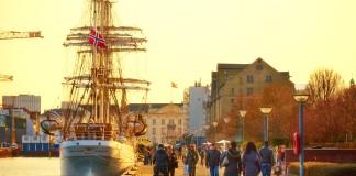 Kodaň na jeseň