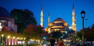 Istanbul v noci