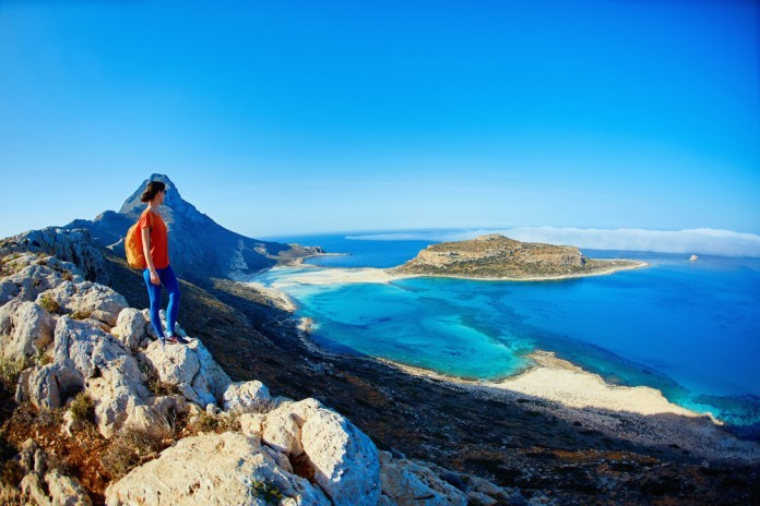 Grécko , Kréta ,skaly, hory