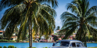 Kuba, Varadero, auro, more