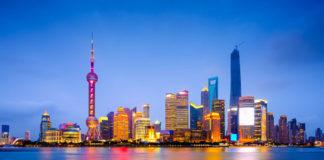 nočný Šanghaj , Čína