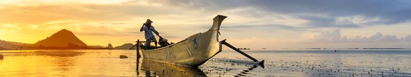 indonézia loďka