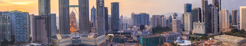 Kuala Lumpur , pohľad na mesto
