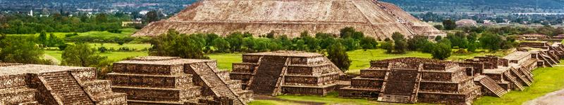 Mexiko, pyramídy