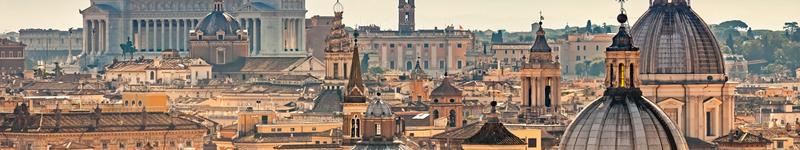 Rím z výšky
