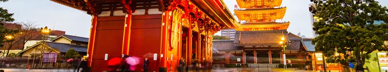 Tokio - mesto a chrámy