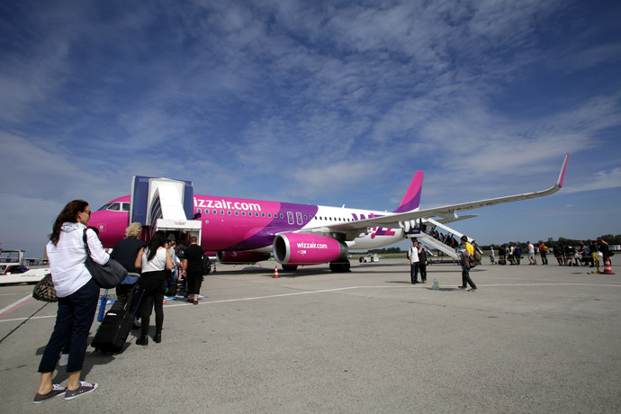 WizzAir lietadlo
