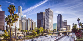 diaľnice Los Angeles