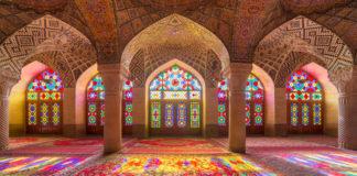 chrám v Irán-e