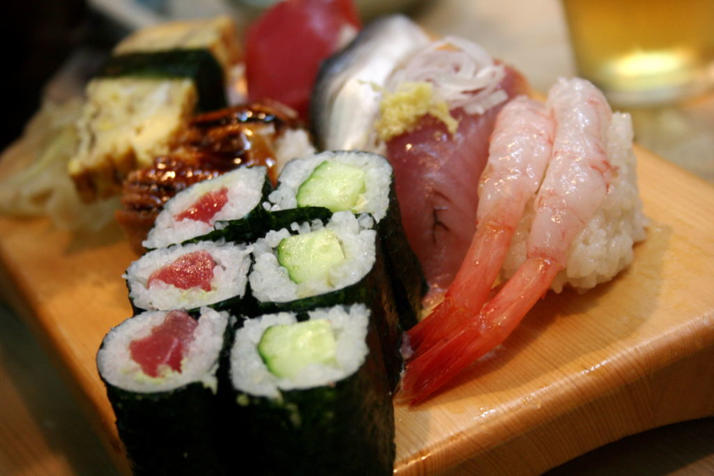 sushi na tanier
