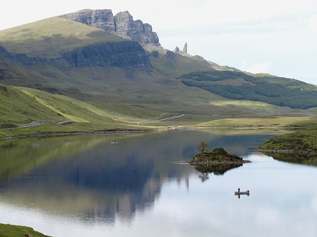 Isle Of Skye ostrov pekna priroda