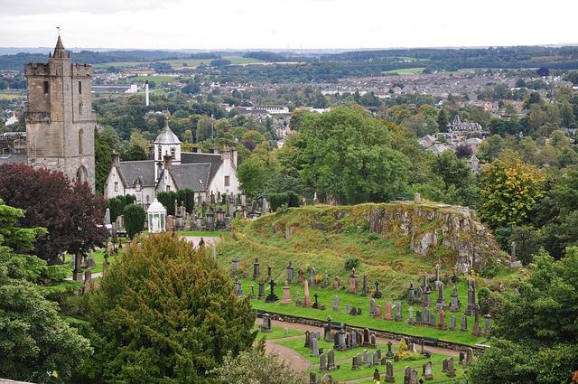 hrad Stirling v škótsku