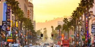 ulica v Los Angeles