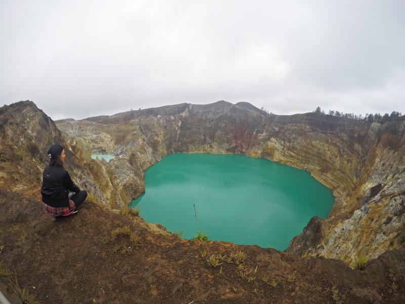 Národný park Kelimutu Indonézia