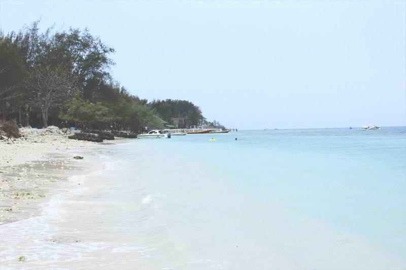 Pláže na ostrovoch Gili