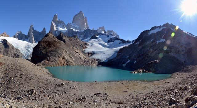 La Laguna de los Tres Argentína