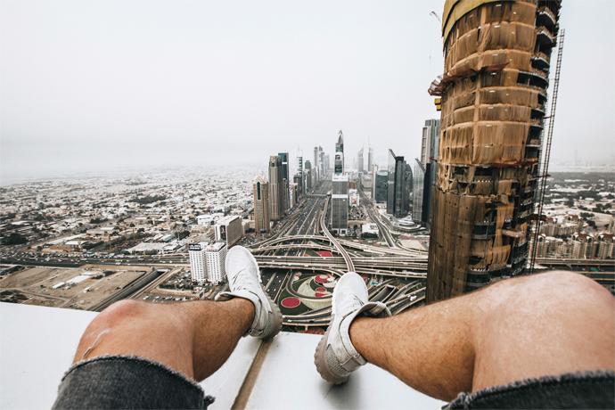 Šimon Snopek v Dubaji
