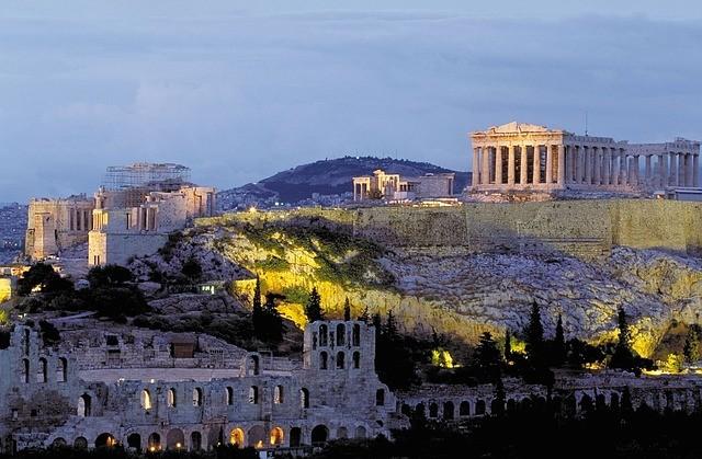 akropolis v aténach