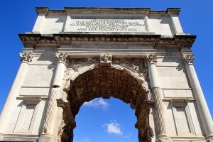 vítazný oblúk rím