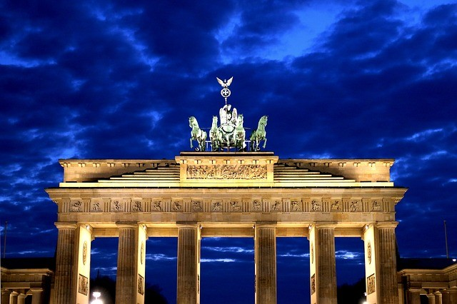 brandenburgská brána v berlíne