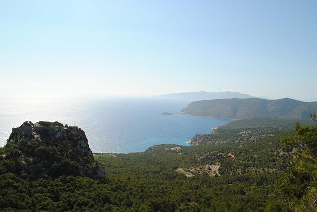 ostrov rodos v grécku