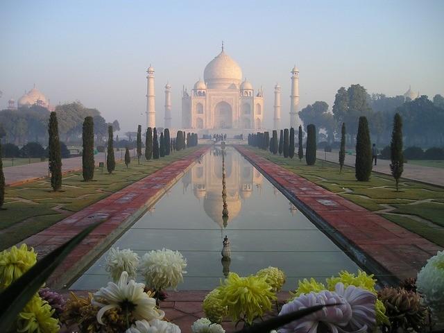 chrám taj mahal v indii