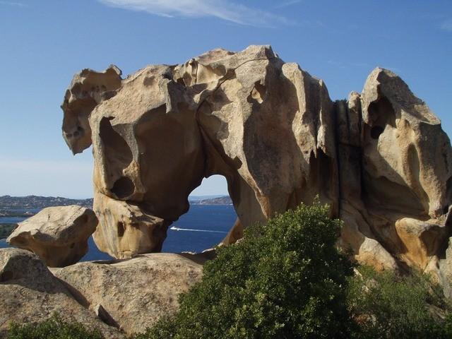 sardínia ostrov a pláže a skaly