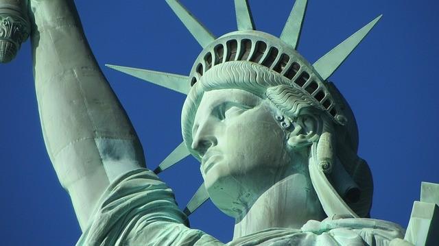 socha slobody v new yorku