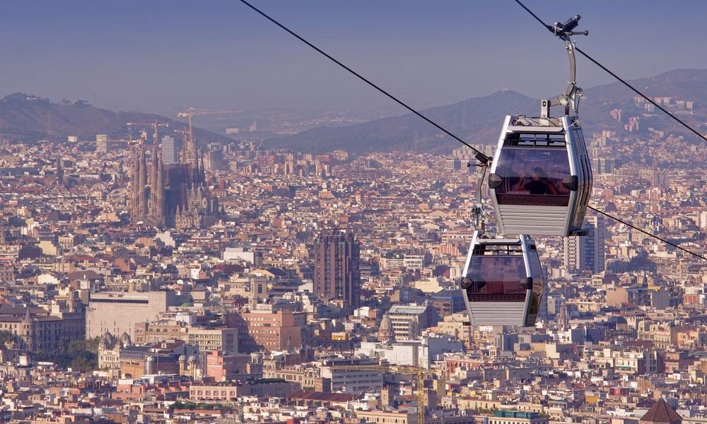 lanovka montjuic barcelona