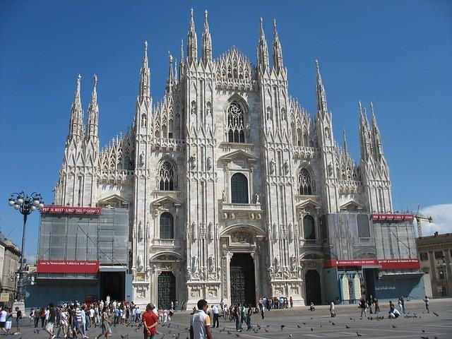 katedrála v talianskom miláne