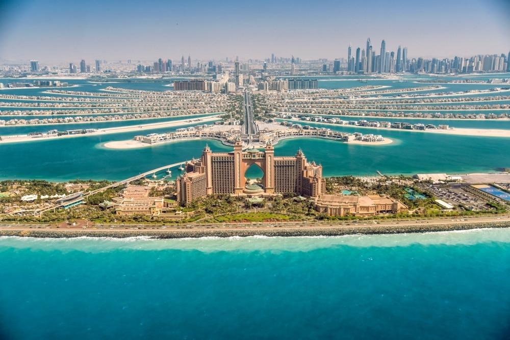 Palm Jumeirah a hotel atlantis