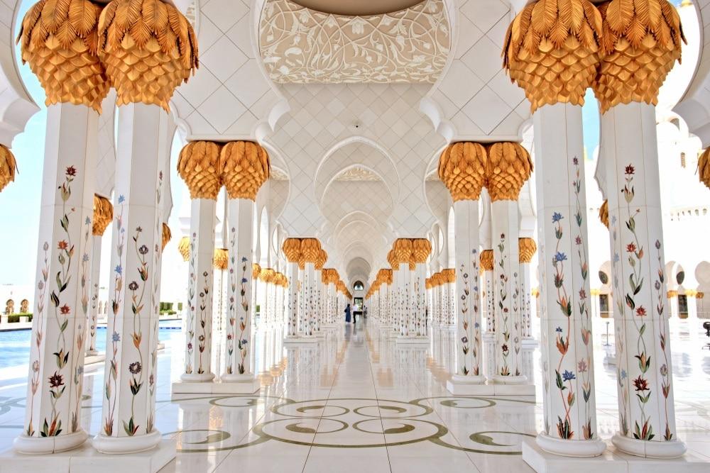 Sheikh Zayed Grand Mosque vAbu Dahbí
