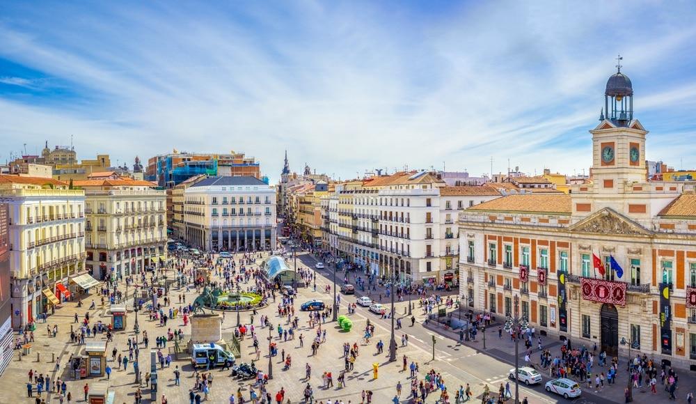Puerta de Sol madrid