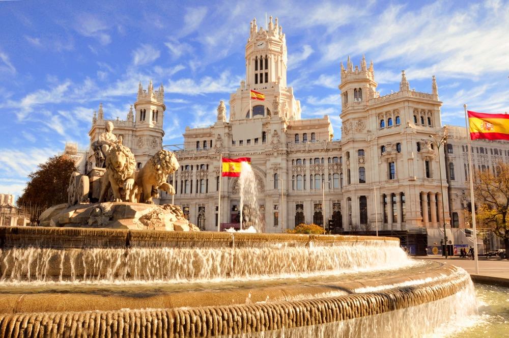 Plaza de Cibeles & Palacio de Comunicaciones madrid