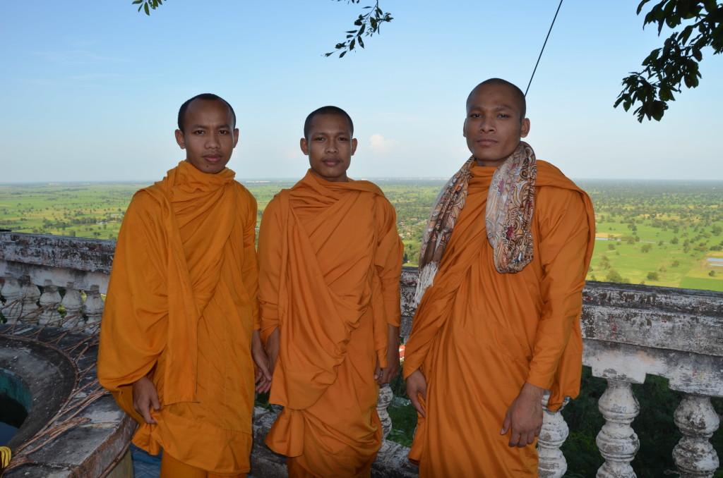 Budhistickí mníchovia v Nepále