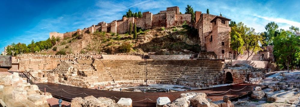 rímske divadlo malaga