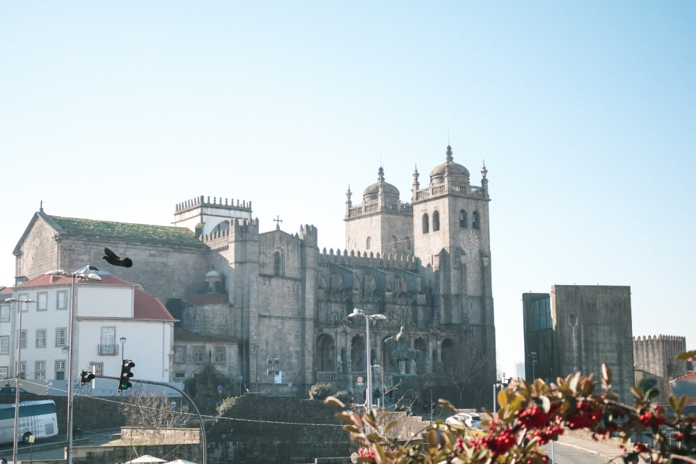katedrála Sé do Porto, portugalsko