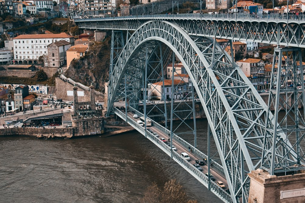 Luís I Bridge, porto, portugalsko