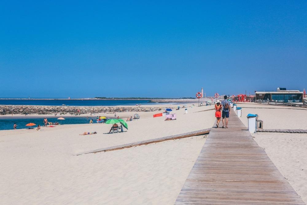 pláž porto, portugalsko