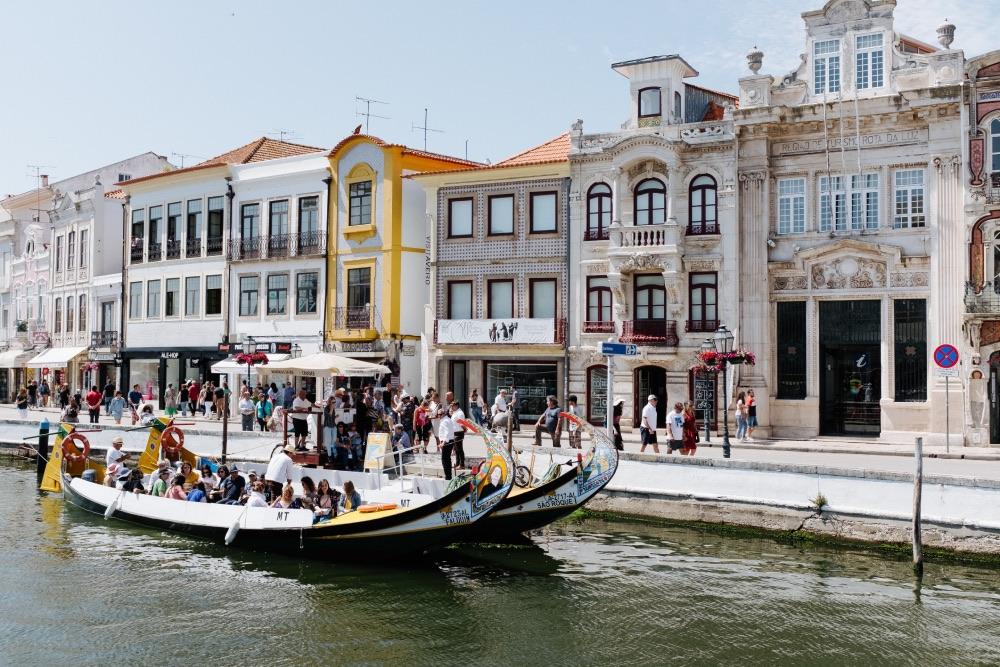mesto Aveiro, portugalsko