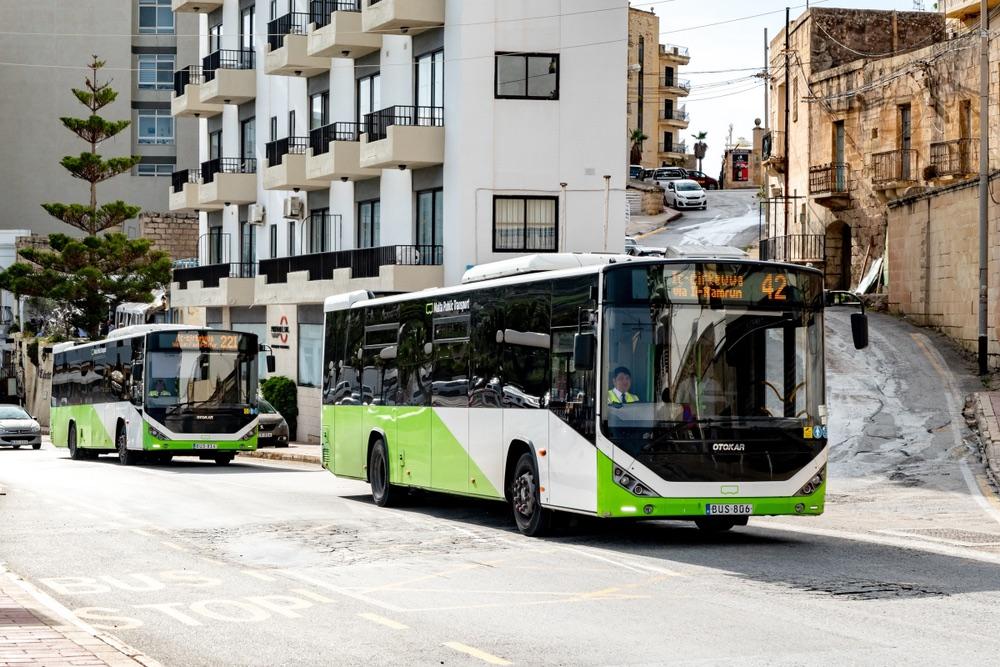 maltské autobus