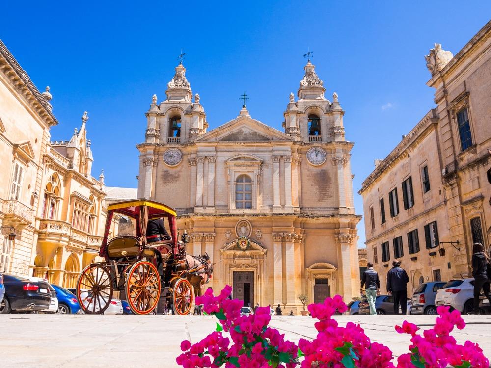 Saint Paul's Cathedral mdina malta