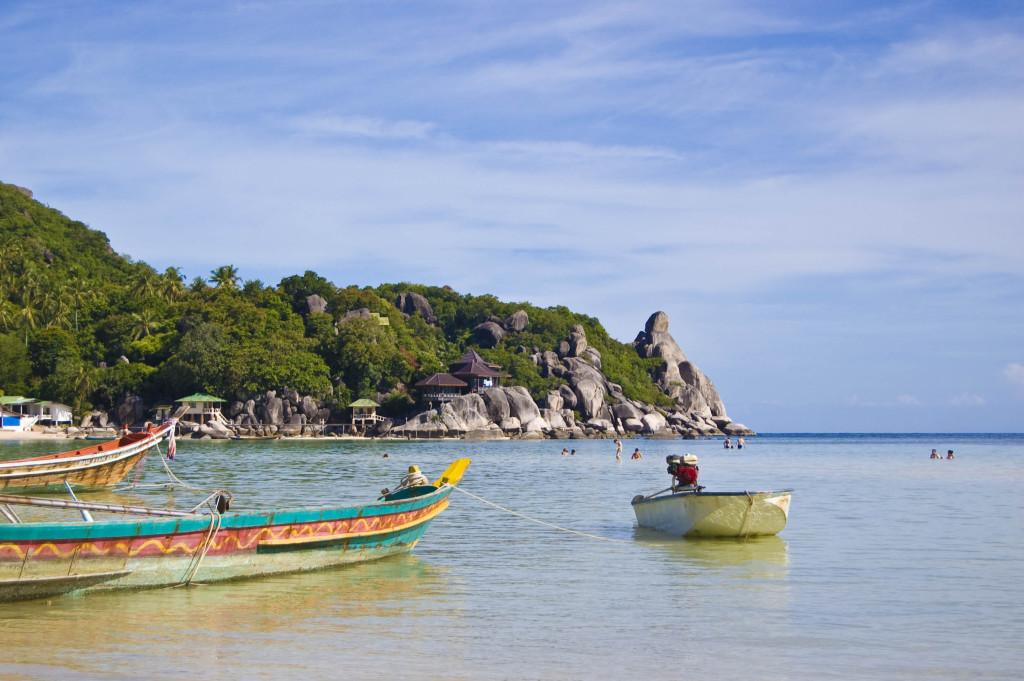 Koh Tao ostrov - letenkyzababku