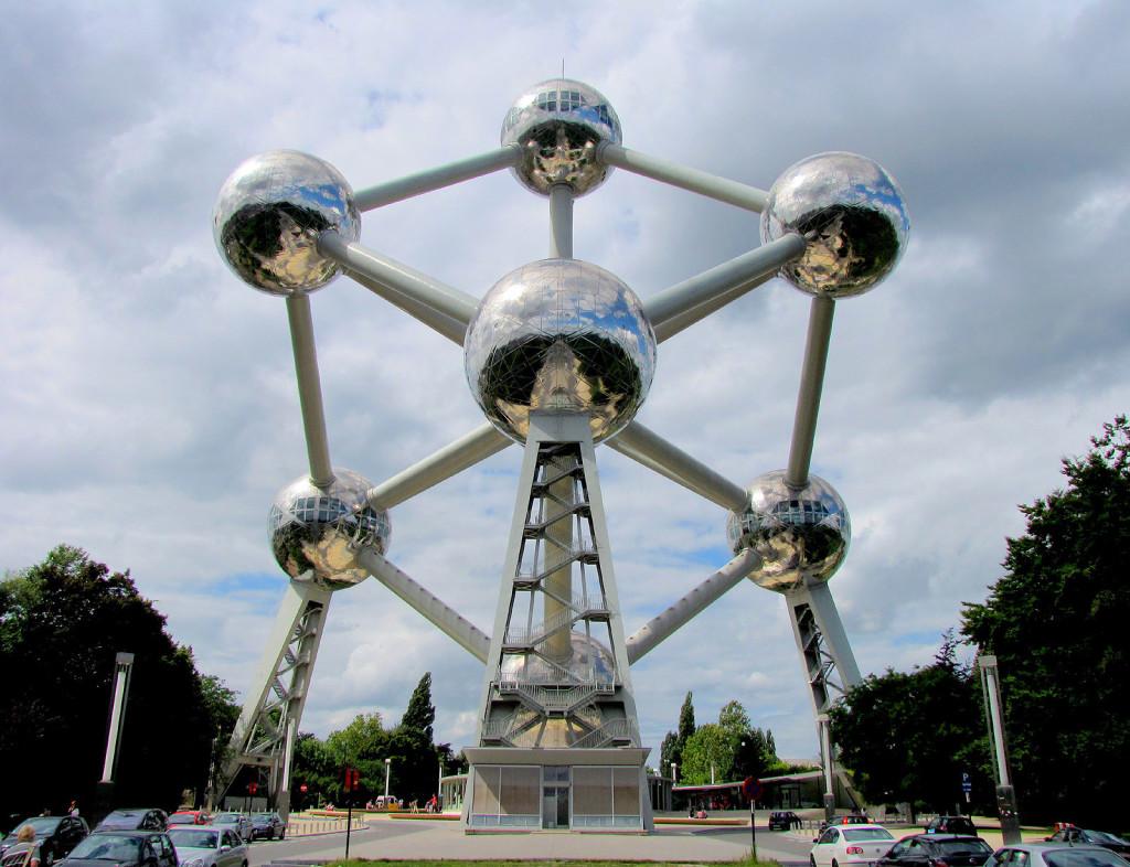 Atomium v bruseli - letenkyzababku