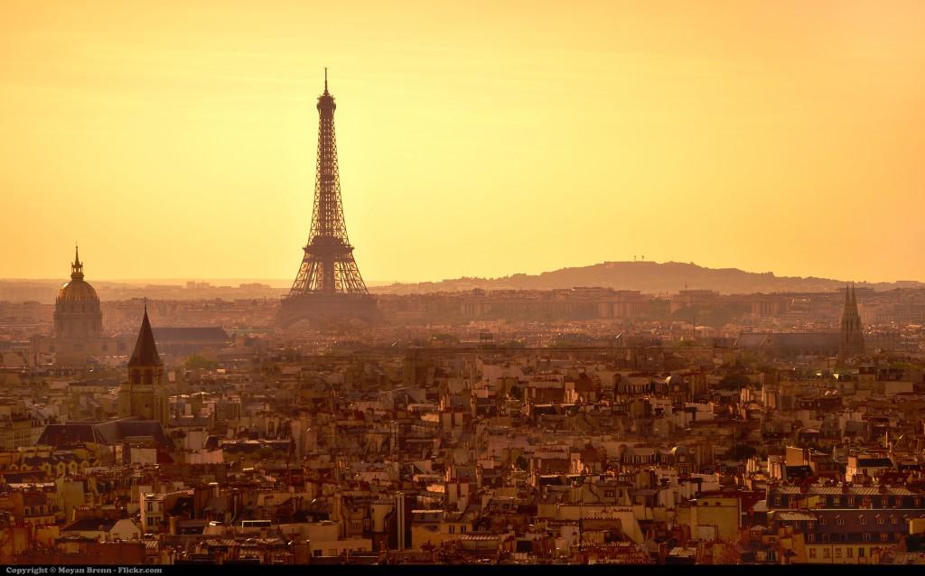 Paríž - eifelova veža