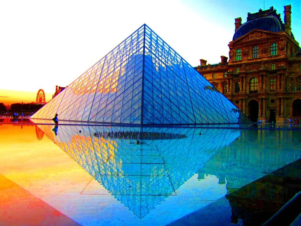 Louvre - letenkyzababku