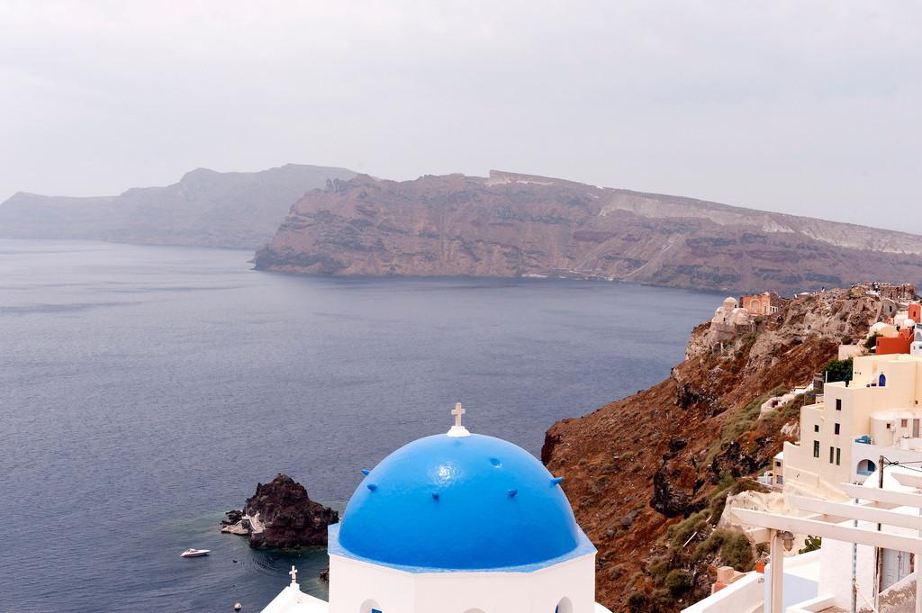 Ostrov Santorín - letenkyzababku