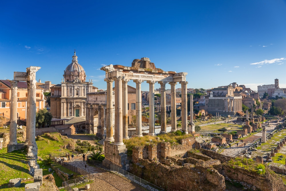 rím forum romanum